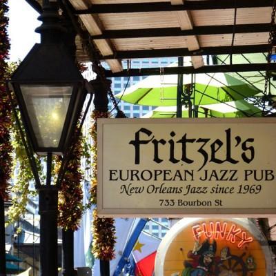 Fritzels Jazz Pub New Orleans