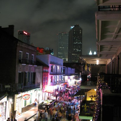 New Orleans Jazz Holiday Bourbon Street