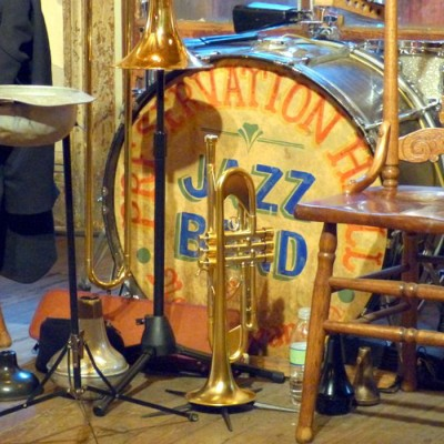 Welcome event venue for the Jazz Holiday in New Orleans