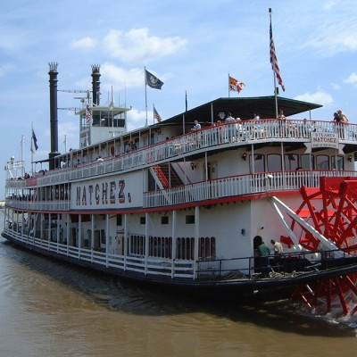 Natchez Paddle Steamer in New Orleans