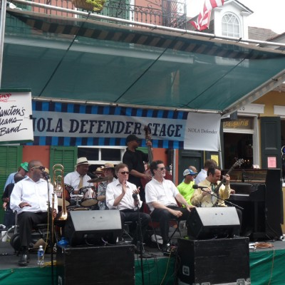 Tommy Sancton's New Orleans Legacy Band Jazz Festival 2014