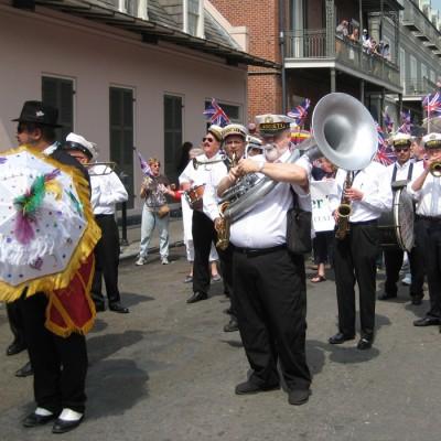 New Orleans Jazz Holiday Parade Band