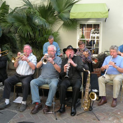 New Orleans French Quarter Tour Jazz Pool Party